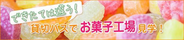お菓子工場見学