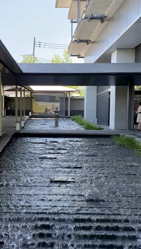 ホテル、ザ・リッツ・カールトン京都の通路