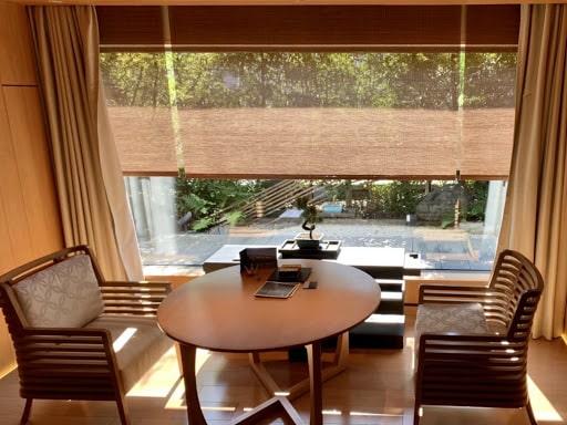 ホテル、ザ・リッツ・カールトン京都の部屋