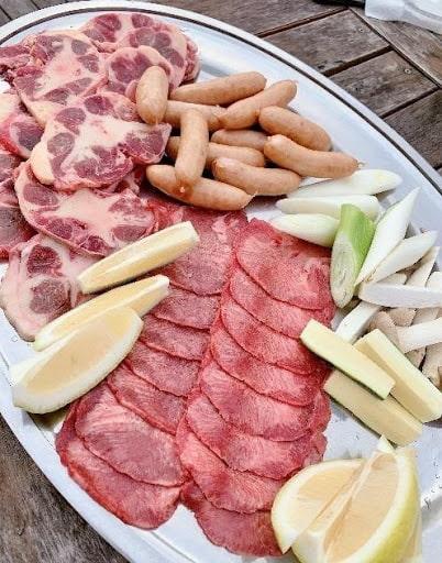 バーベキューのお肉