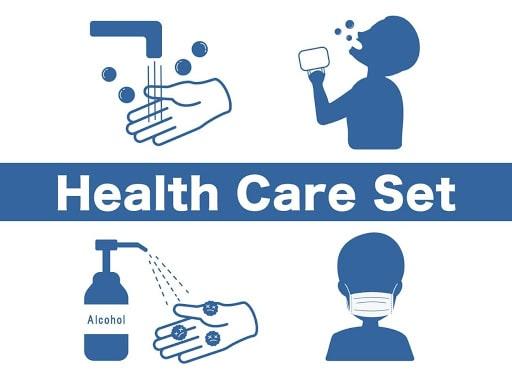 Health care set