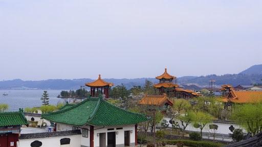 中国庭園「燕趙園」