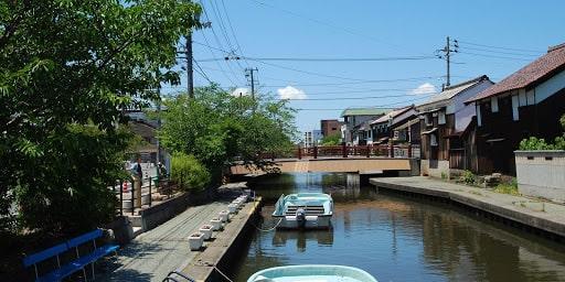 加茂川・中海遊覧