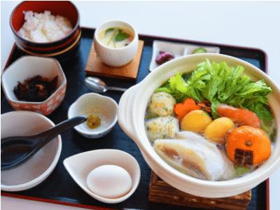 みかん小鍋定食